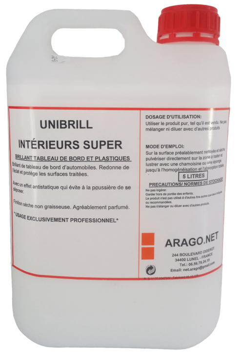 UNI BRILL INTERIEUR 5 L - Washcar