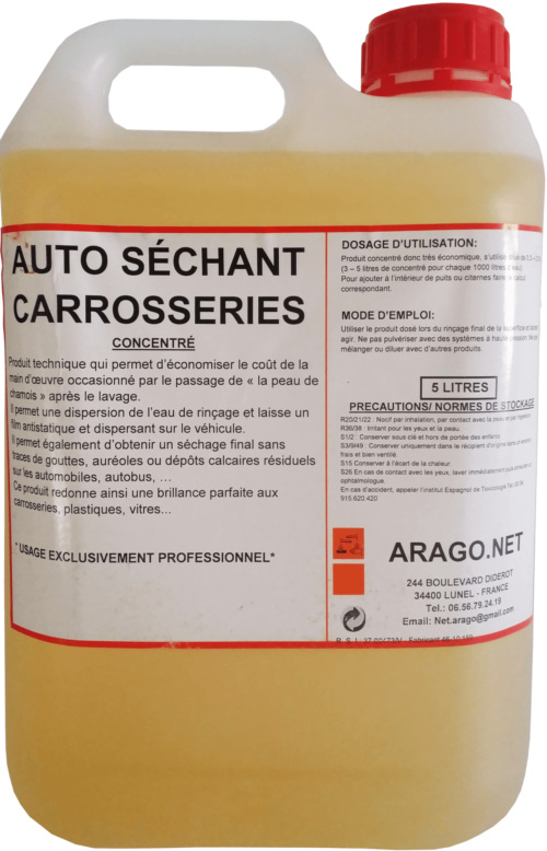 AUTO SECHANT 5 L - Washcar