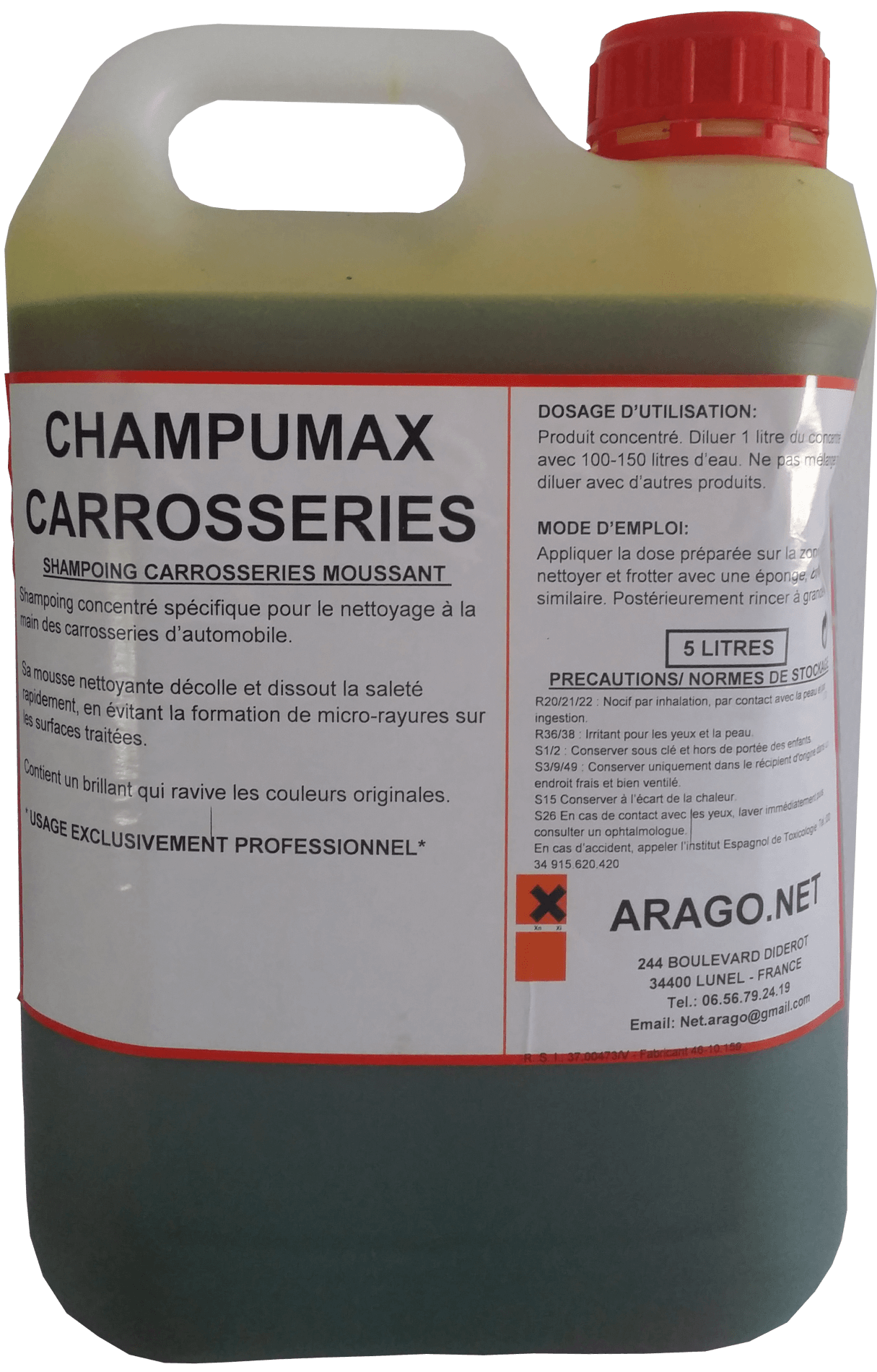 SHAMPOING CIRANT 5 L - Washcar